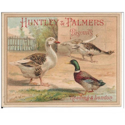 CHROMOS - HUNTLEY & PALMERS - Biscuits - Reading & Londres(Ref : #0187386411)