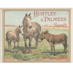 CHROMOS - HUNTLEY & PALMERS - Biscuits - Reading & Londres(Ref : #0187387037)