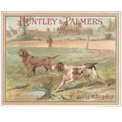 CHROMOS - BISCUITS HUNTLEY & PALMERS - Chiens(Ref : #0189935499)