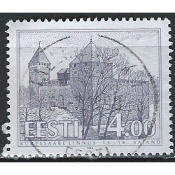 Estonie - 1994 - Y & T n° 249 - Edifices typiques - Château Kuressaare - O. - Timbres